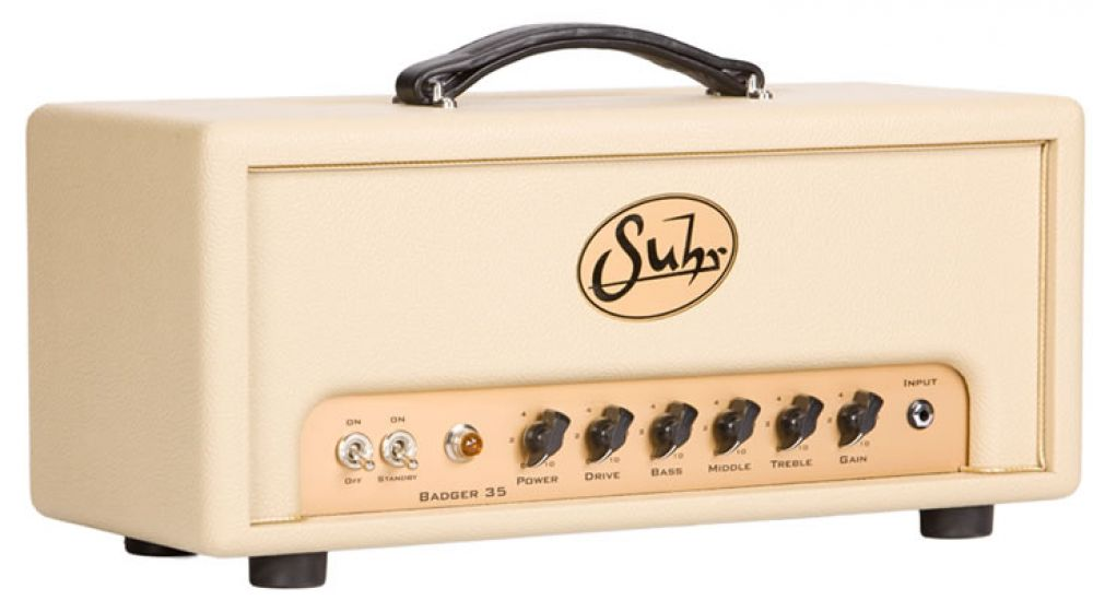 Suhr Bagder 35 Head (Vintage cream)