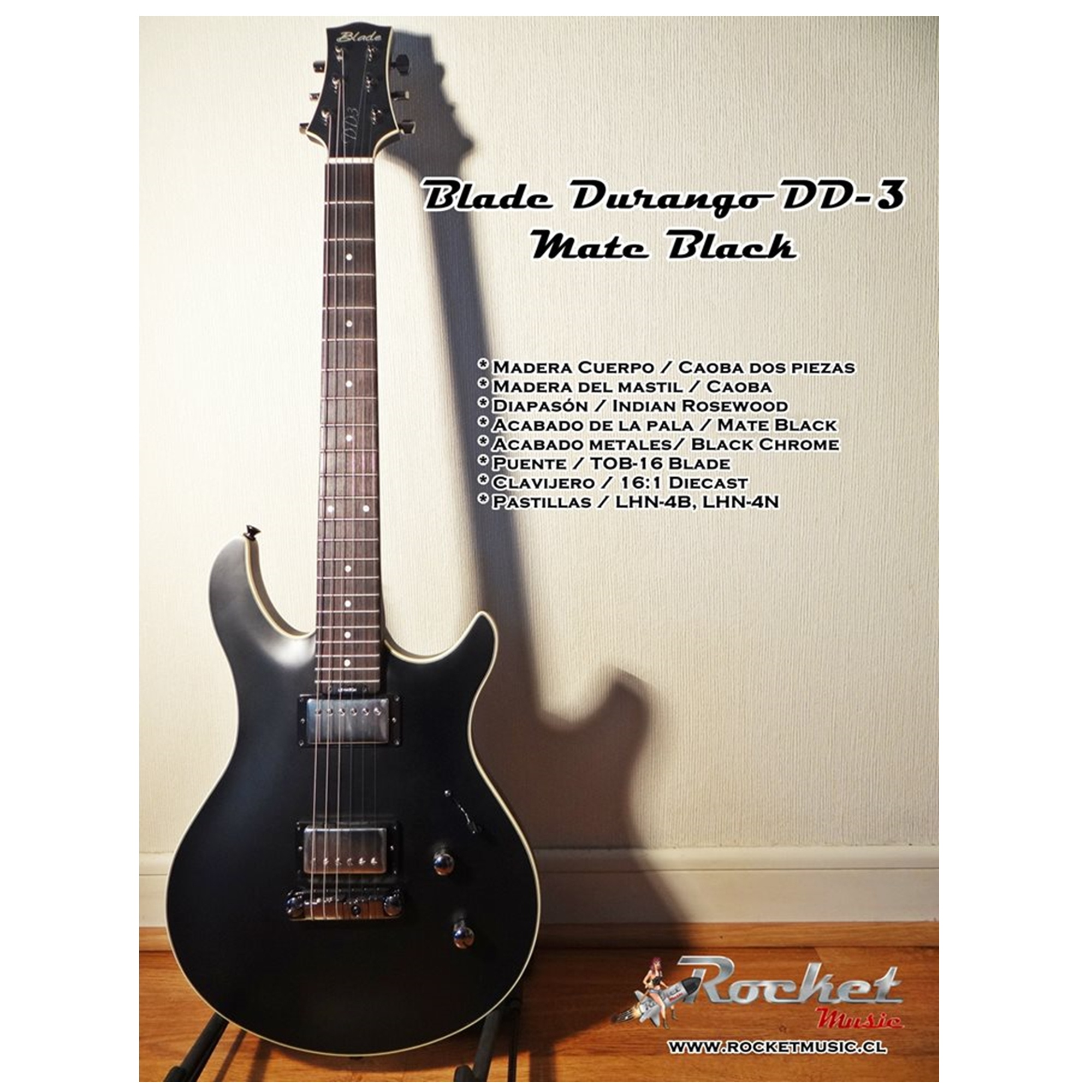 Blade Durango DD3 / Open Pore Black