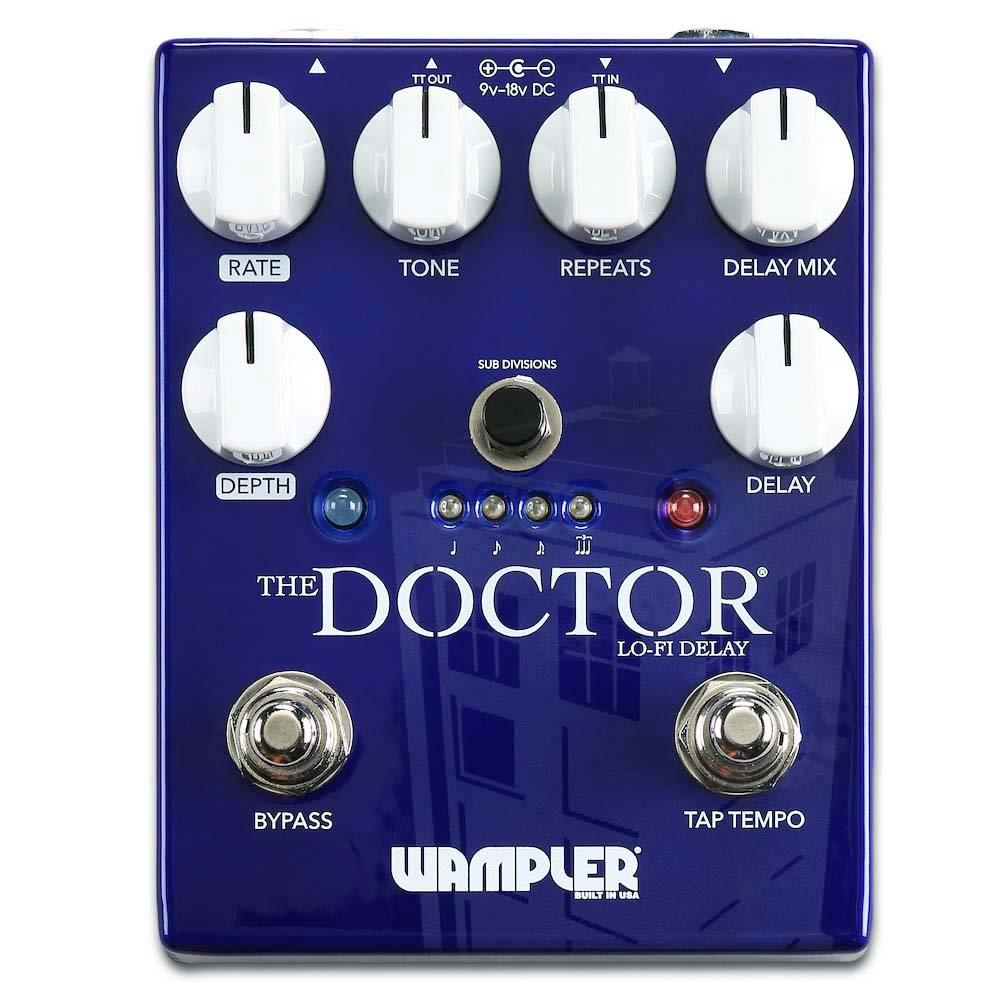 "Wampler ""The Doctor"" Lo Fi Ambient Delay"